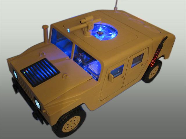 US Army Humvee casemod
