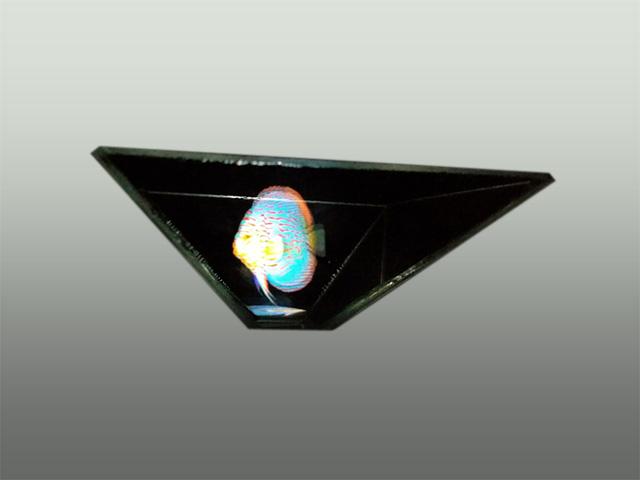 Hologram på mobil eller tablet
