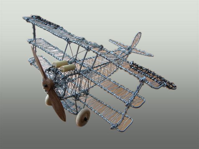 Ståltrådsflyver