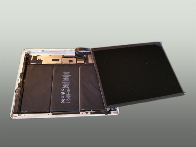 Udskiftning af glas på iPad
